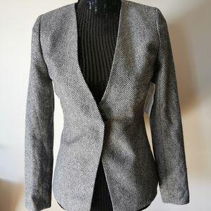 Emerson Rose Tweed Wool Blend Blazer Size 0